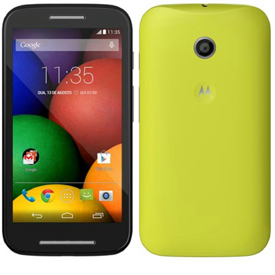Moto E – First Low Budgeted Smartphone From Moto