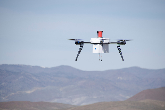 Flirtey delivers drugs by drone from ship
