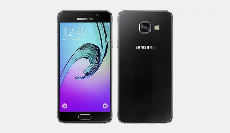 Samsung Galaxy A3 (2016) spotted again with Nougat